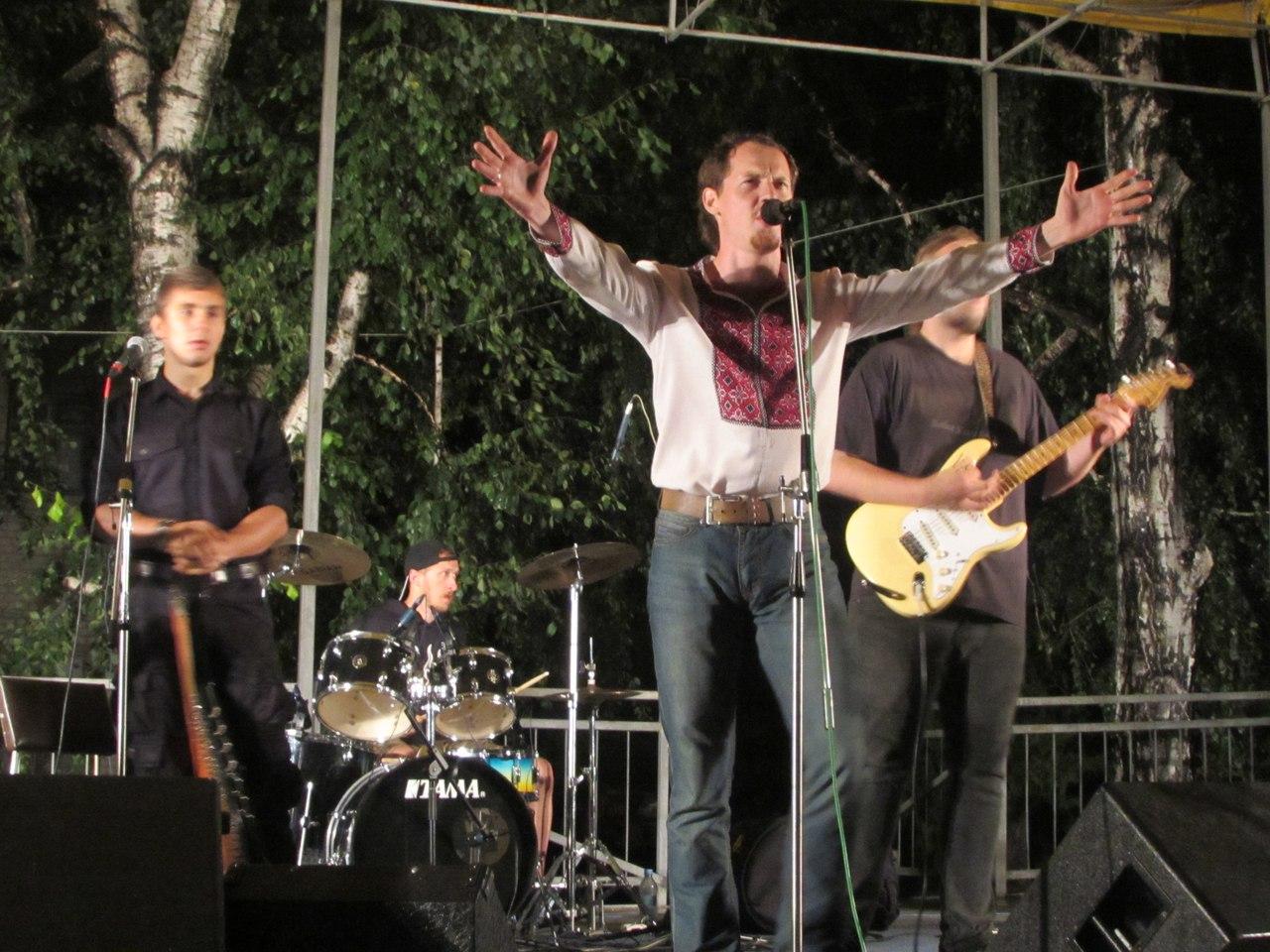 Сергій Василюк, Тінь сонця, Старобільськ, Луганська область, виступ, фото, 23 липня 2016 року