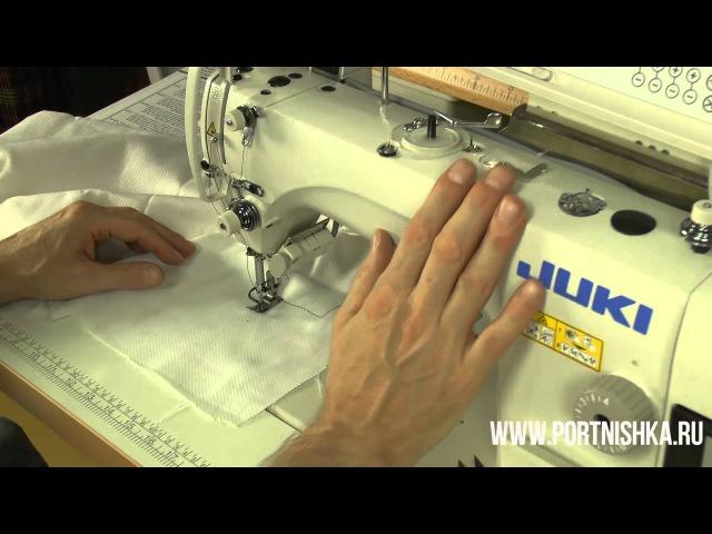 ✂️👍🛠Настройка швейной машины JUKI DDL 8700 A 7
