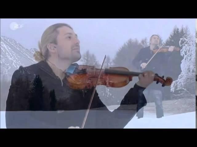 David Garrett Christmas Classic Medley ZDF – Fernsehgarten On Tour (13-12-2015)
