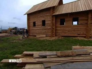 Старообрядческое село Усть Цильма на Русском Севере река Печора