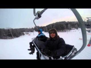 Горнолыжный курорт Логойск, сноуборд 2016