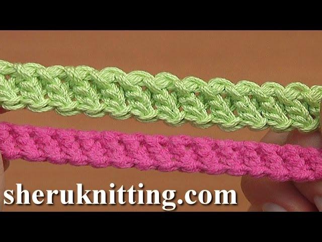 How to Crochet Romanian Point Lace Cord Tutorial 94 Háčkovací šňůra