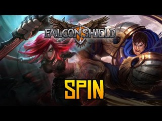 Falconshield - Spin! feat. Nicki Taylor (Original League of Legends song - Garen & Katarina)