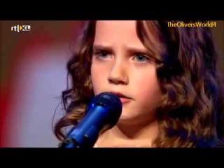 Шоу талантов в Голландии- Красивая маленькая девочка невероятно поет! Аж мурашк ...