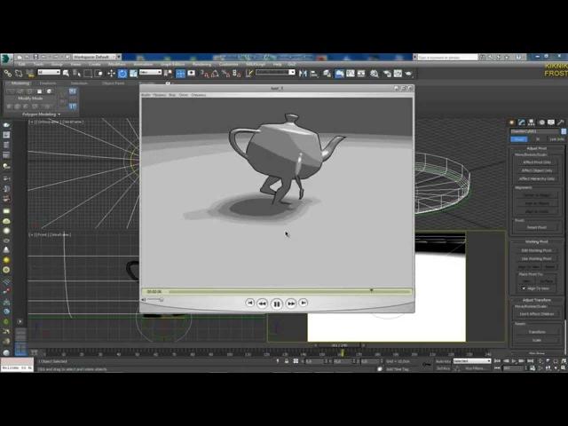 3D Max KF - как сделать видео-фаил