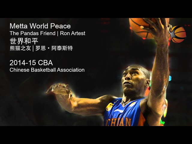 Metta World Peace | Ron Artest China 2014-15 CBA | Full Highlight Video [HD]