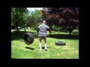 Low Tech High Effect Working out with tires