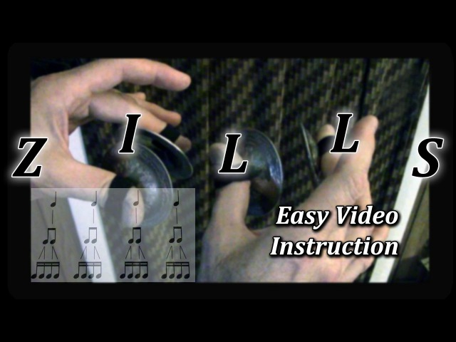 How to play a basic Zill pattern - for Belly Dancers