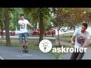 3. Как кататься на роликах Упражнение самокат от askroller
