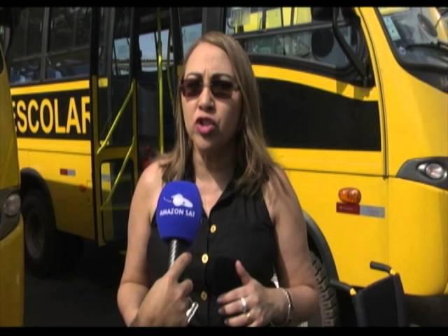 Amazônia News | População de Macapá recebe ônibus adaptados