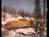 Американские грузовики Мак  Arctic Convoy With Giant Mack Trucks