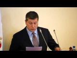 Выступление Олега Сорокина на заседании Заксобрания Нижегородской области (27.08.2015)