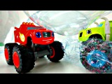 Blaze et les Monster Machines - Crusher met super bulle sur la piste pour cr