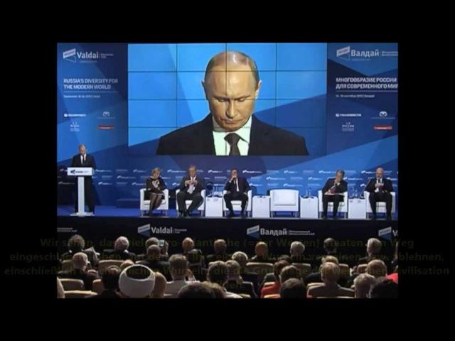 Die versteckte Botschaft von Putin