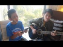 SOMEBODY I USED TO KNOW (GOTYE) cover by Aldrich and James