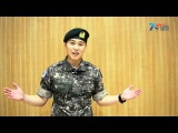 [VID] 150814 Sungmin 국방홍보원 Military FB Update (2)