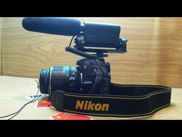 Посылка из Китая(TAKSTAR югк-598 конденсаторный микрофон для Nikon)