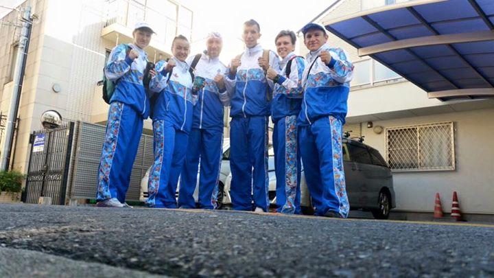 команда Mad Max Dojo в Японии