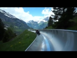 Удивительные американские горки в Альпах