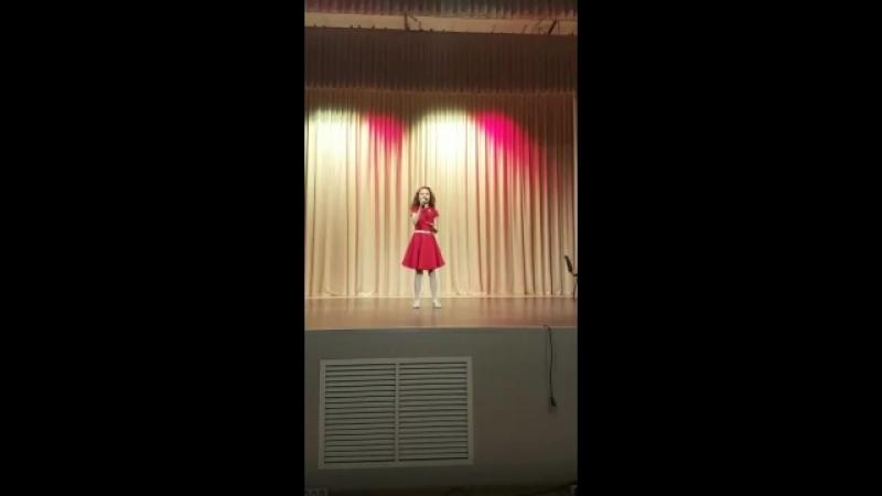 Диляра Каримова с песней Непогода