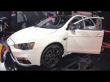 2016, 2017 Mitsubishi Lancer EX video review