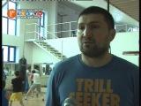 Шамиль Гаджиев ставит ударную базу бойцам Хасавюрта