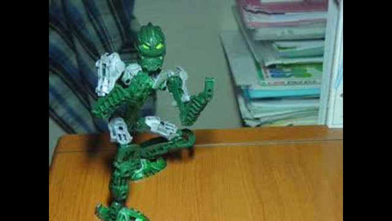 BIONICLE Fighters -Kongu VS Matoro-