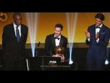Лионель Месси получил «Золотой мяч» как лучший футболист 2015 года