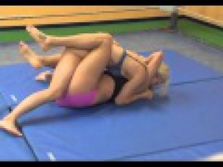 tall vs small woman submission wrestling 1