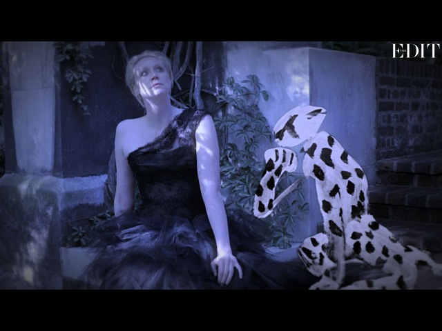 Game of Thrones' Gwendoline Christie stars in a gothic fashion fairy-tale   NET-A-PORTER.COM