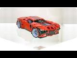 Megabricks – Lego models' displays / Мегабрикс – витрины музея Лего