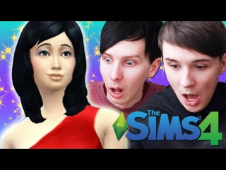 WE GET A NEW SIM! - Dan and Phil Play: Sims 4 #23