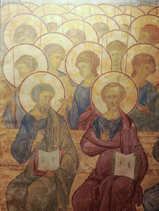 фрески Спасского собора Андроникова монастыря