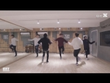 mirrored [dance practice] KNK - knock