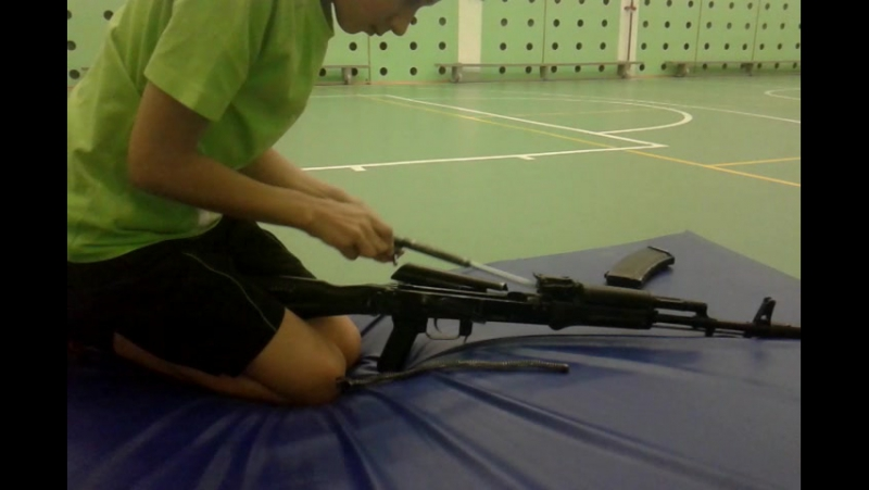 Сборка и разборка AK-74.