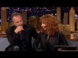 The Tonight Show - Mylene Farmer - Sting - HD format - 04.12.2015
