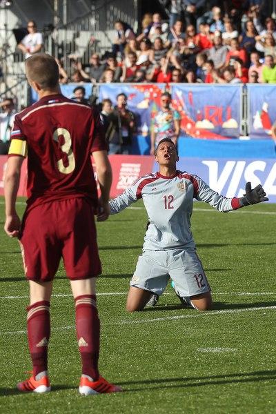 Дэвид Сангаре дебютировал в сборной России