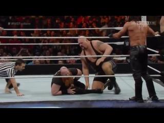 [#My1] Фастлейн 2015 - Шоу, Кейн и Роллинс против Райбека, Роуэна и Зигглера