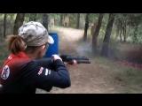 Девочка 12 лет стреляет, как боец спецназа!!!