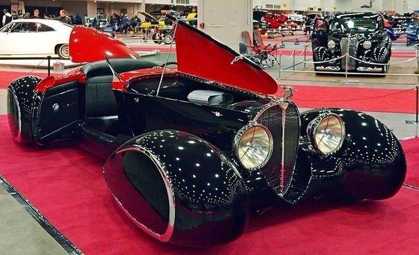 Компания Delahaye USA занимается воссозданием дизайна авто 30-х годов. Не так да...