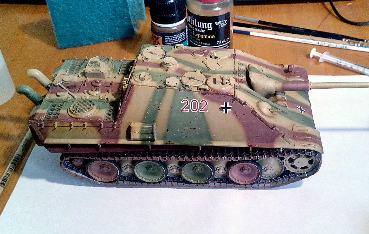 Jagdpanther (Late\поздний вариант) (Tamiya 35203 1/35) KY_t8A7xGC0