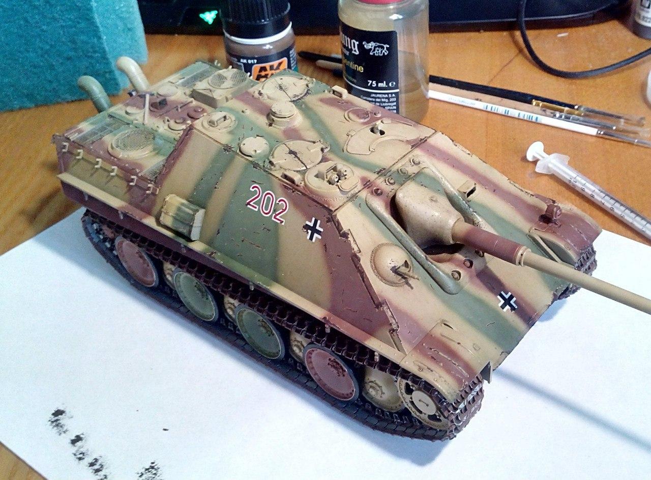 Jagdpanther (Late\поздний вариант) (Tamiya 35203 1/35) IYE7MjreHKY