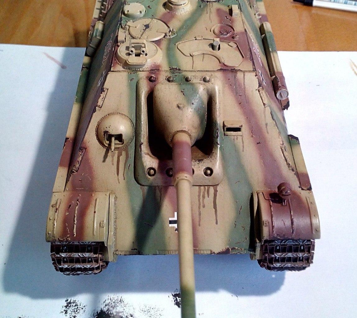 Jagdpanther (Late\поздний вариант) (Tamiya 35203 1/35) MGIBbE3FQn0