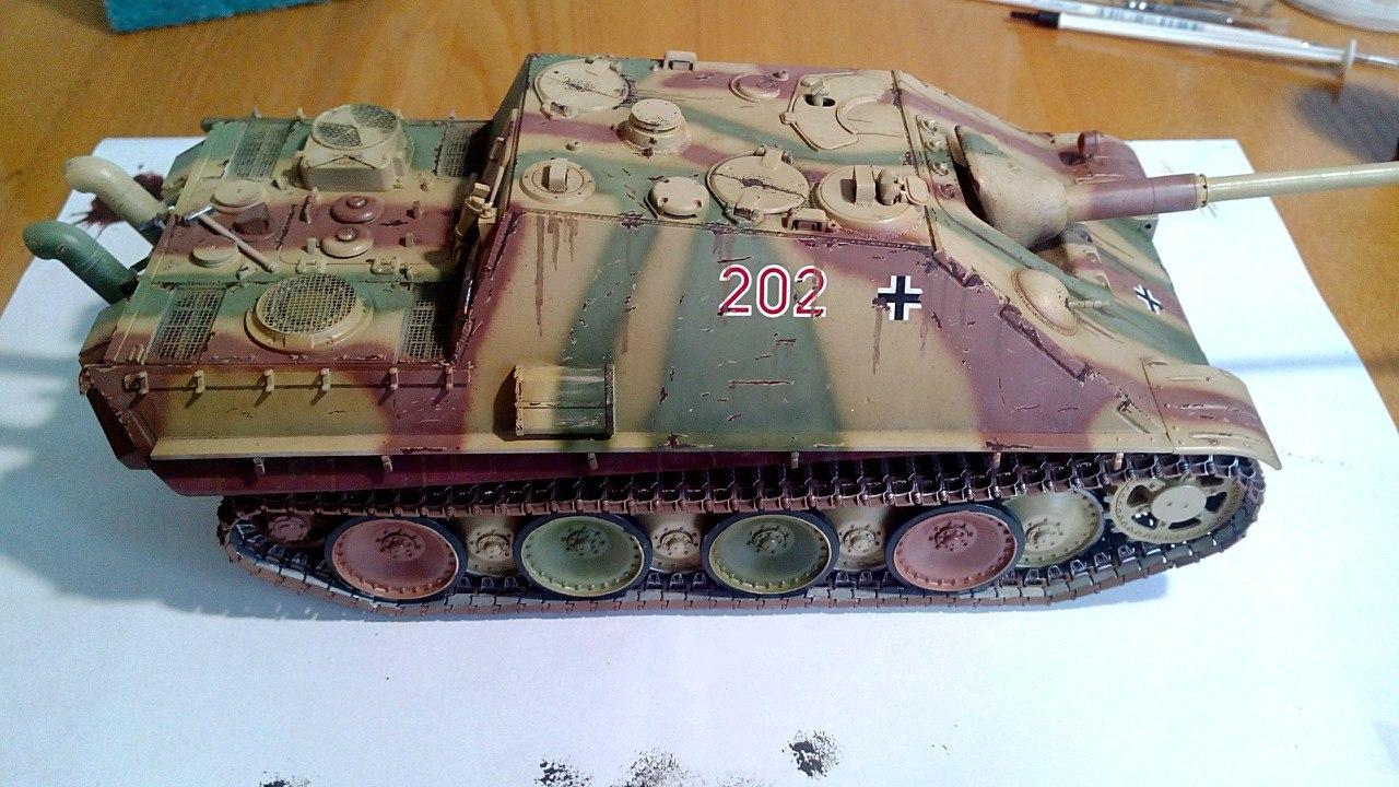 Jagdpanther (Late\поздний вариант) (Tamiya 35203 1/35) AefptvwF7pU