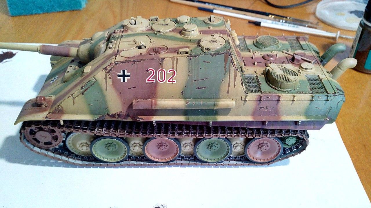 Jagdpanther (Late\поздний вариант) (Tamiya 35203 1/35) 0z6E3T79X-o