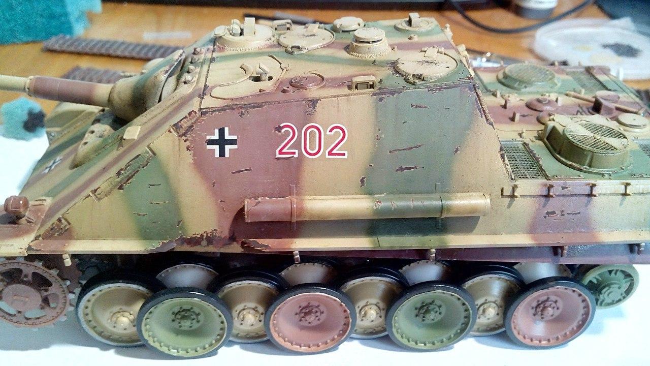 Jagdpanther (Late\поздний вариант) (Tamiya 35203 1/35) PZQOY_mkROQ