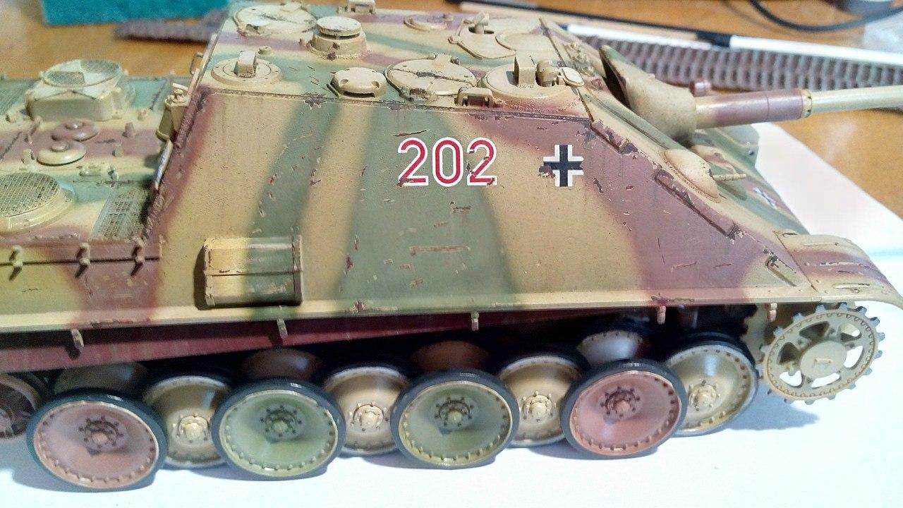 Jagdpanther (Late\поздний вариант) (Tamiya 35203 1/35) Lp3zlIEQ9ac