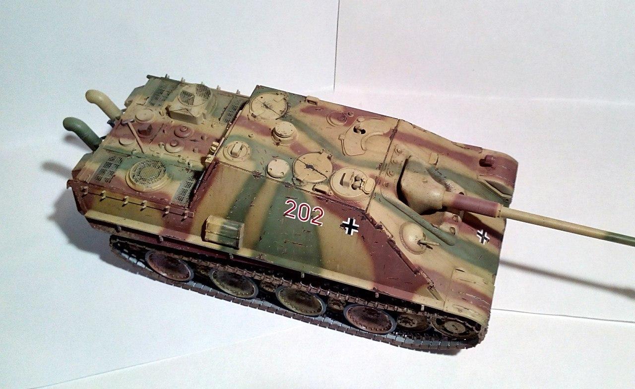 Jagdpanther (Late\поздний вариант) (Tamiya 35203 1/35) - Страница 2 R9MGP9L3-D4