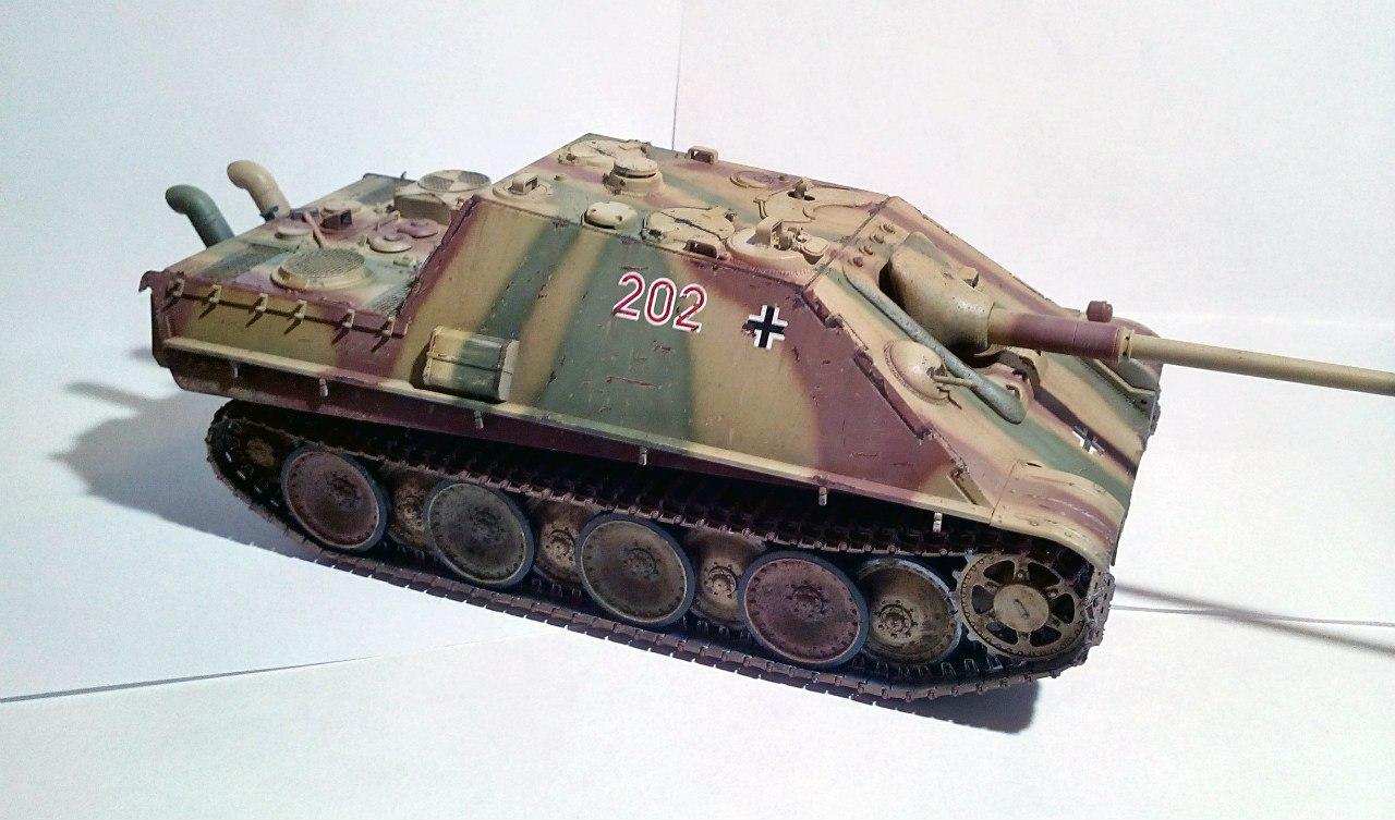 Jagdpanther (Late\поздний вариант) (Tamiya 35203 1/35) - Страница 2 El1zN-gS6RY