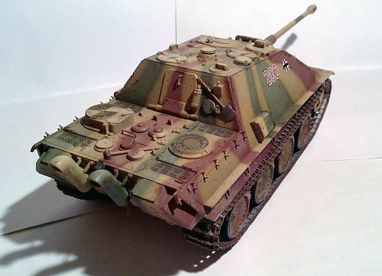 Jagdpanther (Late\поздний вариант) (Tamiya 35203 1/35) - Страница 2 7fYjv_uFdps